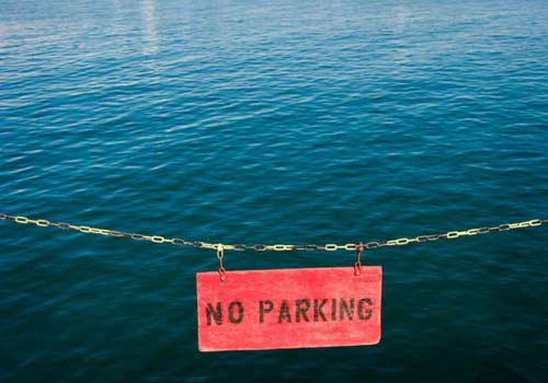 No Parking Here