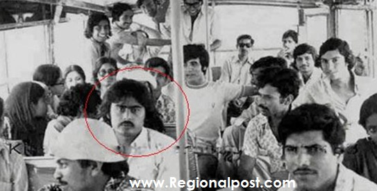 Karachi Univeristy Point,Founding Member of APMSO Altaf Hussain can be Seen in Red Circle.