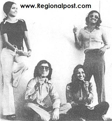 University of Karachi Students in late 70's..