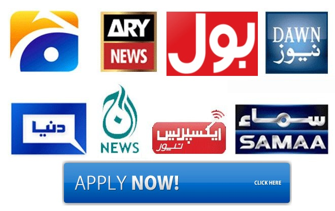 Job in Pakistani TV Channel